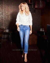 Отличные женские джинсы Slim Fit р. М-ка 42евро 48наш TCM Tchibо