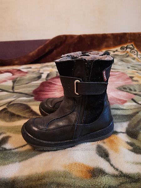 Зимние теплые ботинки Kurt р.27