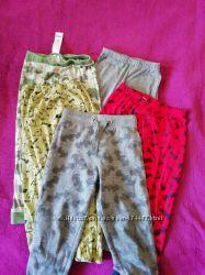 Разные штаны подштанники для дома и детского сада 3-6 лет