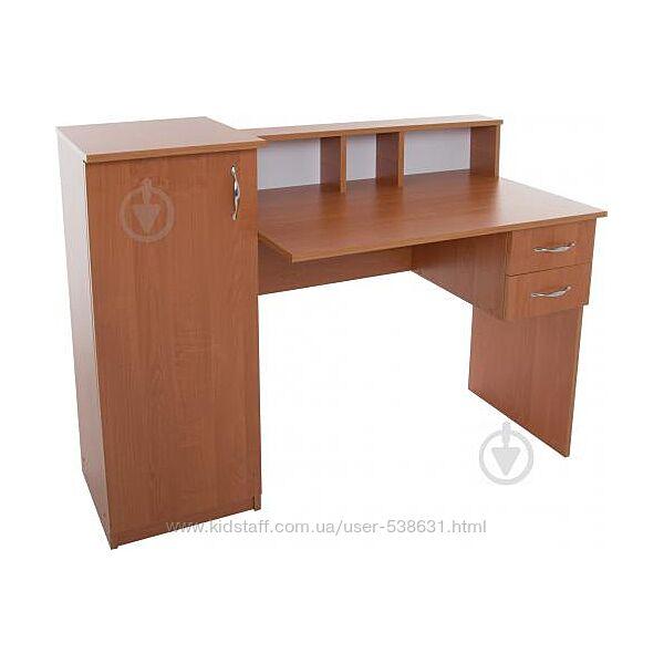 Стол письменный Пи-1 Компанит Ольха