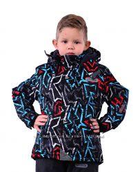 Акционное предложение. Зимняя термокуртка 98, 104р Граффити PIDILIDI черная