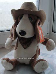 Мягкая игрушка 33см Верный пес Билли Бассет