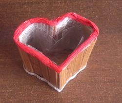 Кашпо-Серце з рослиною