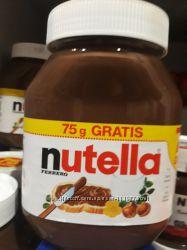 Вкусная оригинал шоколадная паста Nutella с Германии.
