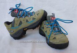 Кожаные деми ботинки кроссовки Olang, Италия, стелька 16. 3 см, р. 25-26