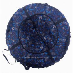 Тюбинг санки надувные 100 см диаметр