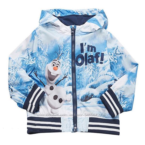 Куртка детская  ветровка Frozen 9-12мес