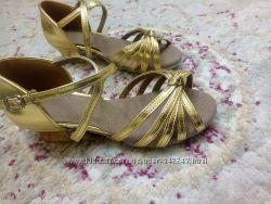 Туфли для бальных танцев, новые, 21см