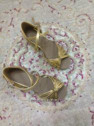 Туфли для бальных танцев, новые 21, 5см