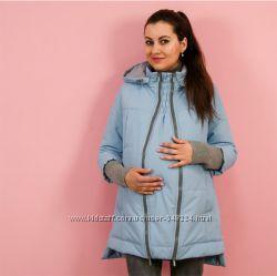 Зимние куртки и пальто для беременных от разных производителей 920ccfb1bcccf