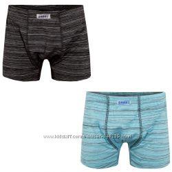 Детские трусы-шорты для мальчика Меланж-1 2 шт. ТМ Габби