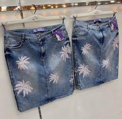 Женская джинсовая юбка Турция lady lucky