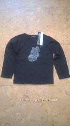 Новый свитерок кофточка для девочки темно серого цвета In extenso 3-14 лет