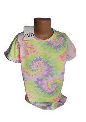 Новые яркие футболки для девочек, девушек Zara 6-14 лет