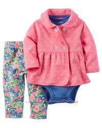 Одежда картерс для девочек Костюмы картерс  тройка картерс,  веселые попки