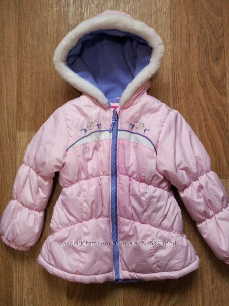 Курточка демисезонная London Fog  на девочку 3-5лет.