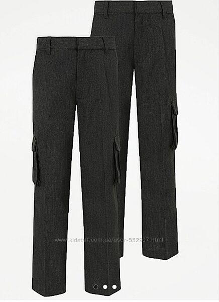 Школьные брюки карго George 11-12 лет
