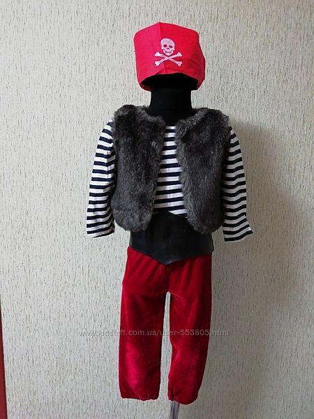 Продам костюм розбійник, пірат, 100-104см