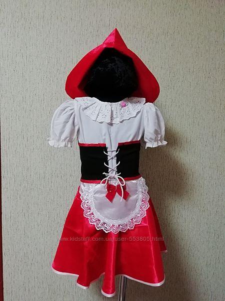 Костюм червона шапочка, 116-122см