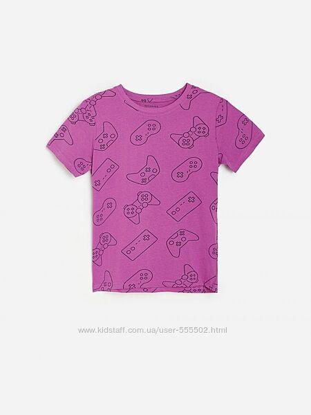 Отличные модные футболочки яркие принты, поло  NEXT