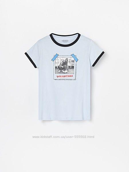 Стильные футболочки для девочек