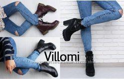 Сапоги Ботинки кожа тм Villomi заказ от 1 пары