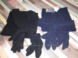 Набор Шапкахомутперчатки флис