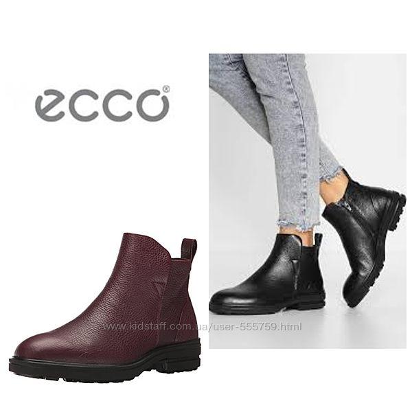 Кожаные демисезонные ботинки экко ECCO ZOE р.35 оригинал