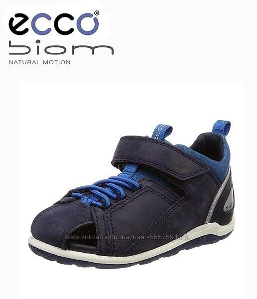 Кожаные босоножки сандалии Ecco Biom Mini р.22,23,24 оригинал Новые