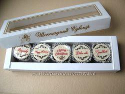 Набор конфет к Рождеству или Новому году на английском