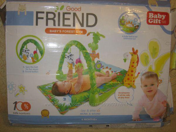 коврик развивающий для малыша Джунгли Fisher-Price