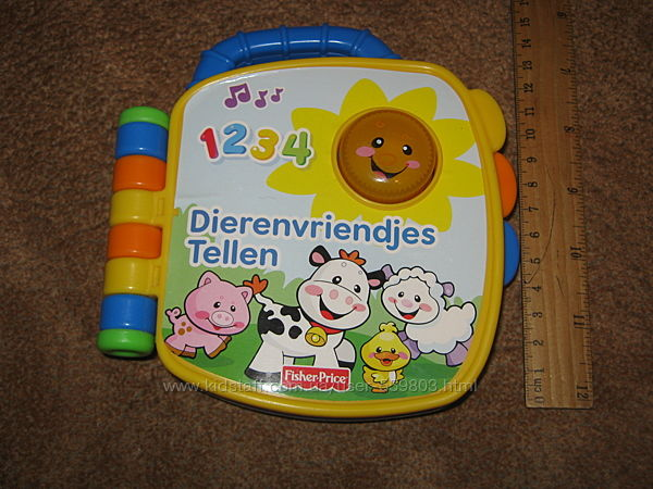 музыкальная книга для малышей Fisher-Price