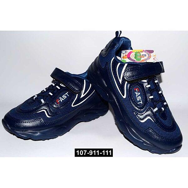 Дышащие детские кроссовки, 31,32,33,34 размер, кожаная стелька, супинатор, 107-911-111