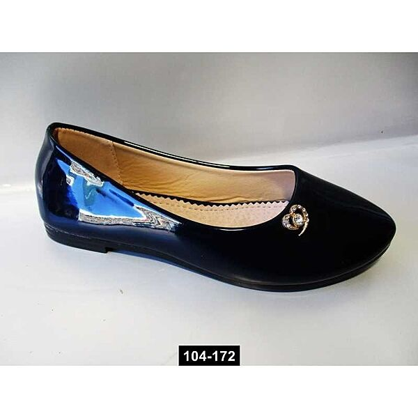 Балетки лаковые для девочки, 32,34,35 размер, школьные туфли, 104-172