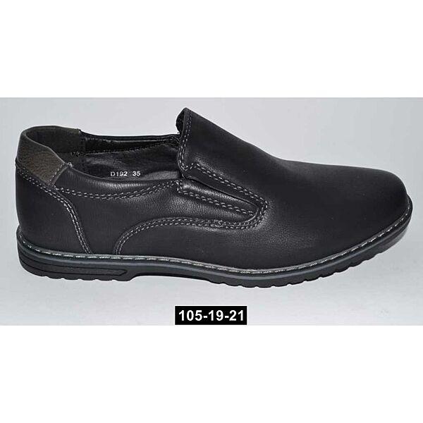 Прошитые школьные туфли для мальчика, 33,34,35,36,37 размер, супинатор, 105-19-21