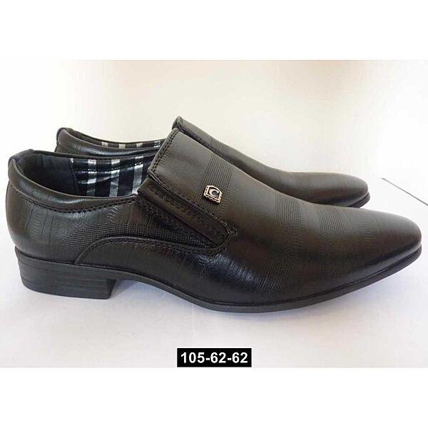 Школьные туфли для мальчика, 33,34,35,36 размер, классические, нарядные, 105-62-62