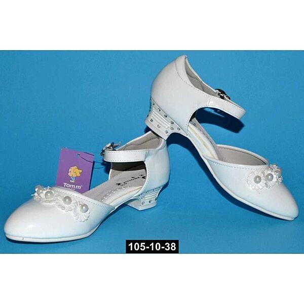 Нарядные туфли Tom. m для девочки, 32 размер,  праздничные туфельки на утренник, 105-10-38