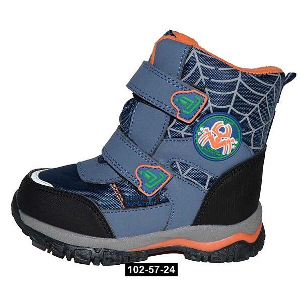 Термоботинки Том. м для мальчика, 23,24,25,27,28,29,30 размер, зимние ботинки, мембрана, 102-57-24