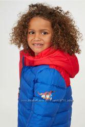 Деми Куртка 98-140 см 2-10 лет H&M дутая Superman Супермен