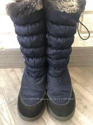 Зимние сапоги для девочки р. 37 БУ