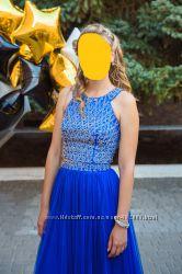 Продам шикарное выпускное или вечернее платье, размер S