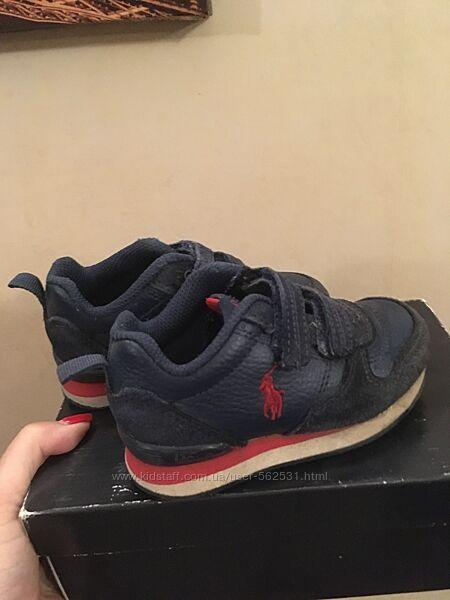 Кожаные кроссовки Polo Ralph Lauren