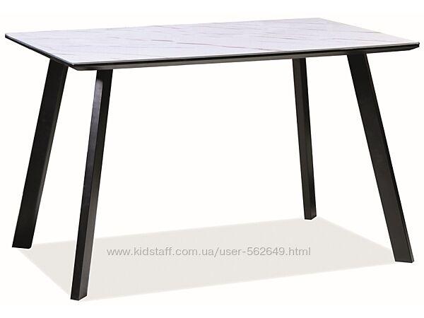 Стіл столовий скляний Signal Samuel