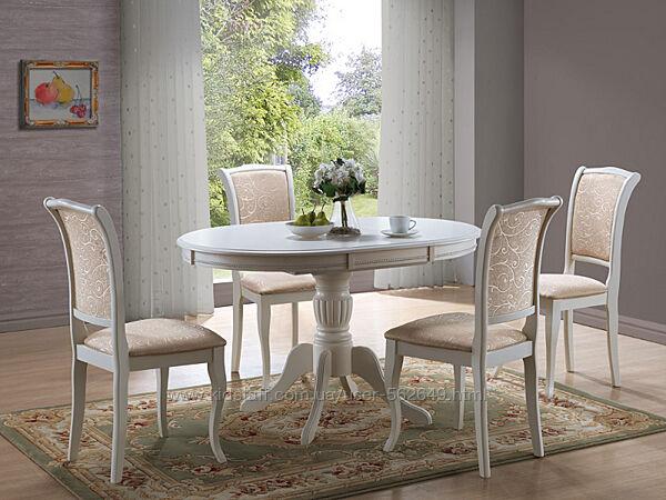 Стіл столовий розкладний деревяний Signal Olivia два кольори