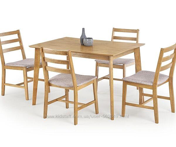 Комплект столовий деревяний Halmar Cordoba дуб світлий