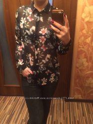 Прозрачная блузка new look