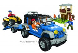 Mega Bloks Jeep Forest Expedition 97806 Джип. Лесная экспедиция. Канада.
