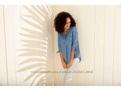 Элегантная легкая летняя рубашка блузка Esmara