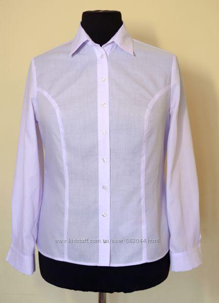 Блуза белая офисная класическая . р. 48, 50, 52.