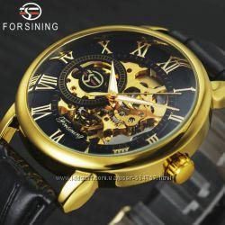 Мужские механические часы Forsining Rich 1120 Skeleton. Механічний годинник